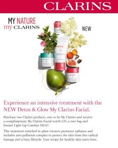 Gold Salon MyClarins Treatment Offer (2)