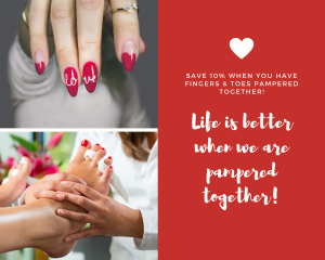 Life is better when we are pampered together!